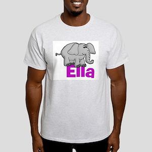 Ella - Elephant Light T-Shirt