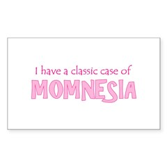 Momnesia Rectangle Decal