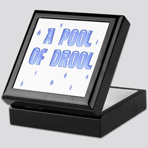 Funny Pool of Drool Keepsake Box
