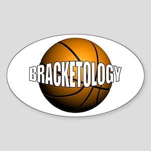Bracketology - Oval Sticker