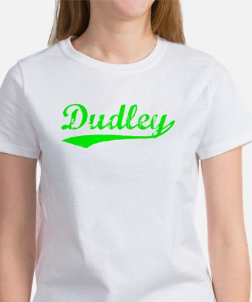 Vintage Dudley (Green) Women's T-Shirt