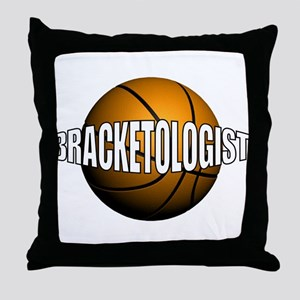 Bracketologist - Throw Pillow