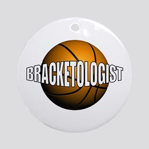 Bracketologist - Ornament (Round)