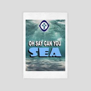 Sea 4' X 6' Rug