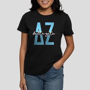 Delta Zeta Polka Dots Women's Classic T-Shirt