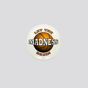 Madness Begins - Mini Button