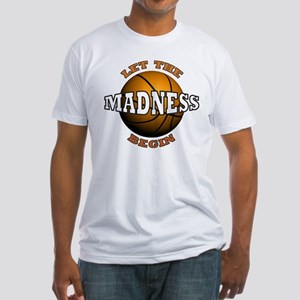 Madness Begins - Fitted T-Shirt