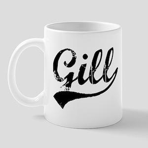 Vintage Gill (Black) Mug