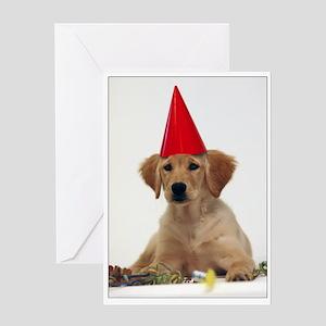 SNAPshotz Golden Puppy Birthday Greeting Card