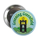 "Greening Greenfield 2.25"" Button (100 pack)"