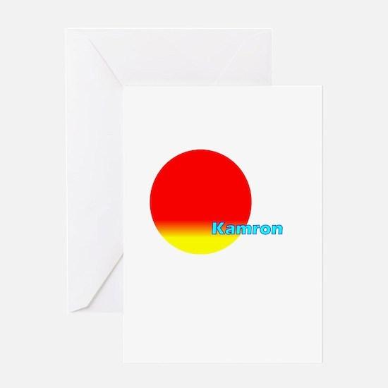 Kamron Greeting Card
