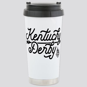 KY Derby 16 oz Stainless Steel Travel Mug