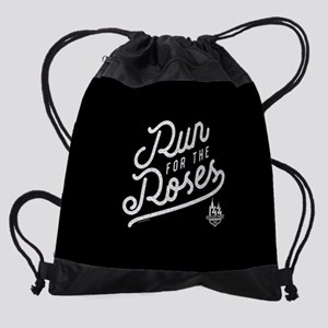 KY Derby Run for the Roses Drawstring Bag