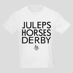 Juleps Horses Derby Kids Light T-Shirt