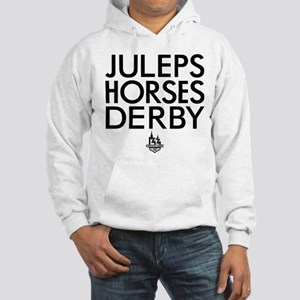 Juleps Horses Derby Hooded Sweatshirt