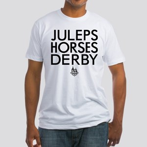 Juleps Horses Derby Fitted T-Shirt