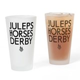 Churchill downs Drinking Glass