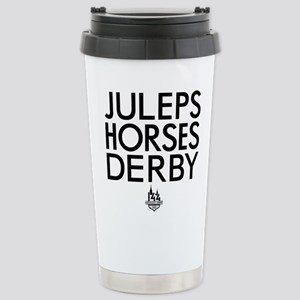 Juleps Horses Der 16 oz Stainless Steel Travel Mug
