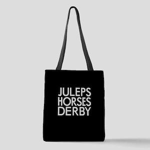 Juleps Horses Derby Polyester Tote Bag