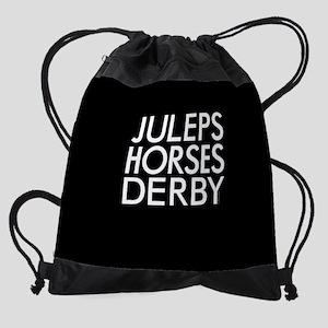 Juleps Horses Derby Drawstring Bag