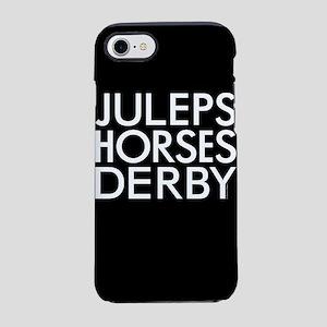 Juleps Horses Derby iPhone 8/7 Tough Case