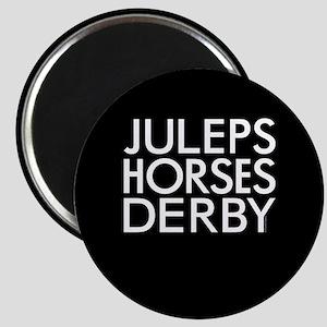 """Juleps Horses Derby 2.25"""" Magnet (10 pack)"""