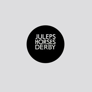 Juleps Horses Derby Mini Button