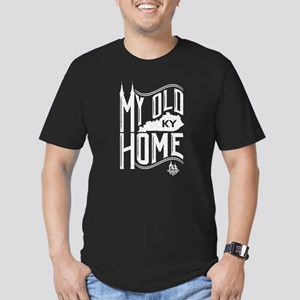 MY Old KY Home Men's Fitted T-Shirt (dark)