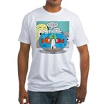 Fishbowl Paranoia Fitted T-Shirt
