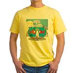 Fishbowl Paranoia Yellow T-Shirt