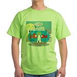 Fishbowl Paranoia Green T-Shirt