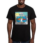 Fishbowl Paranoia Men's Fitted T-Shirt (dark)