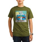 Fishbowl Paranoia Organic Men's T-Shirt (dark)