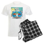 Fishbowl Paranoia Men's Light Pajamas