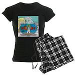 Fishbowl Paranoia Women's Dark Pajamas