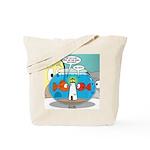 Fishbowl Paranoia Tote Bag
