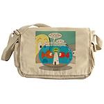 Fishbowl Paranoia Messenger Bag