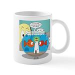 Fishbowl Paranoia 11 oz Ceramic Mug