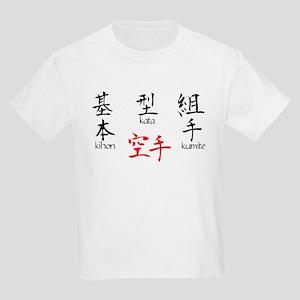 Kihon, Kata, Kumite Kids Light T-Shirt