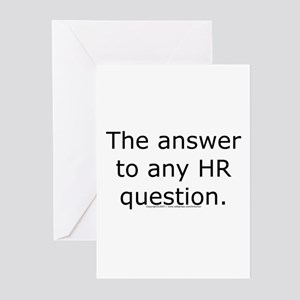 the answer Greeting Cards