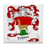 Lehner Family Crest Tile Coaster