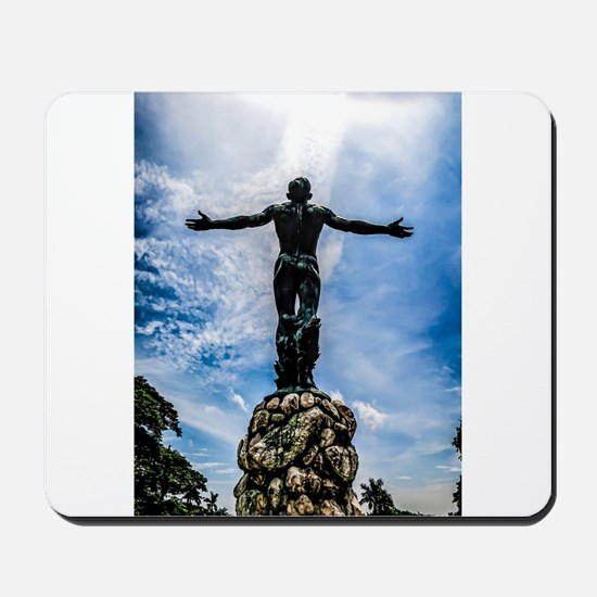 Complete Selfless Offering Mousepad