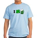 Funny St Particks Day I Love Light T-Shirt