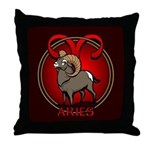 Aries Ram Throw Pillow Astrology Aries Gifts