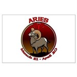 Aries Ram Large Poster Astrology art Prints