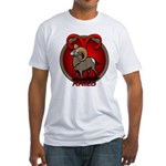 Aries Ram Fitted T-Shirt