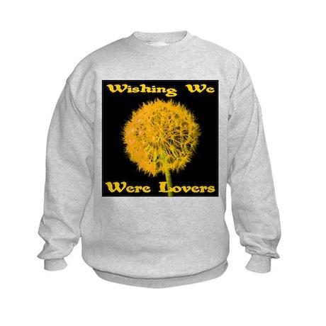 Wishing We Were Lovers Kids Sweatshirt