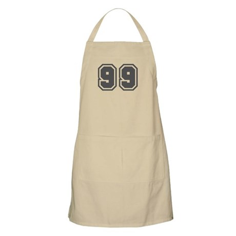 Number 99 BBQ Apron