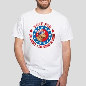 Vote for Chessie White T-Shirt