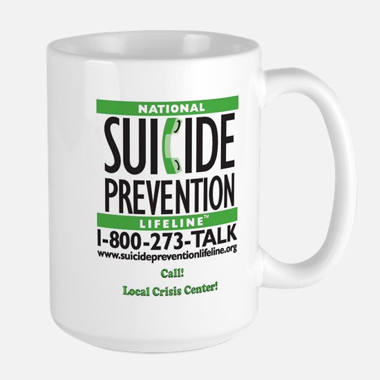 Prevent Suicide! Large Mug